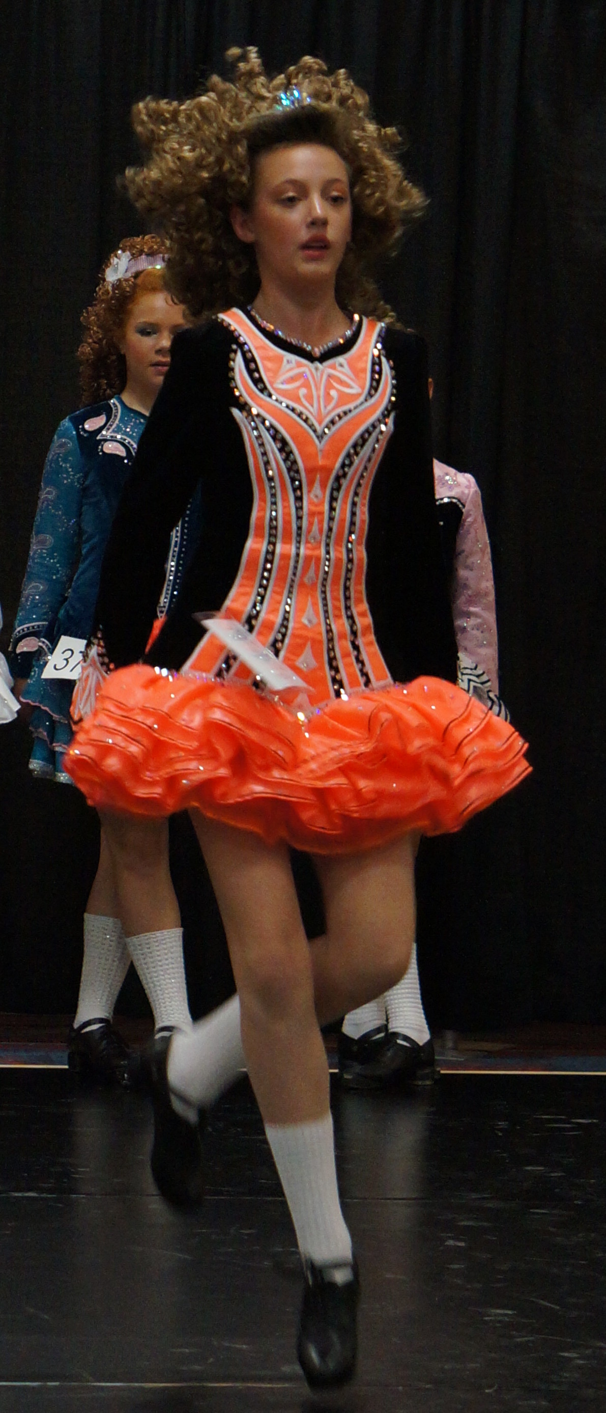 Jordan, competitive Irish dancer