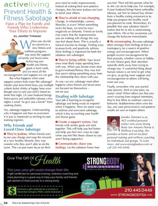Prevent Health Fitness Sabotage Have A Plan For Family And