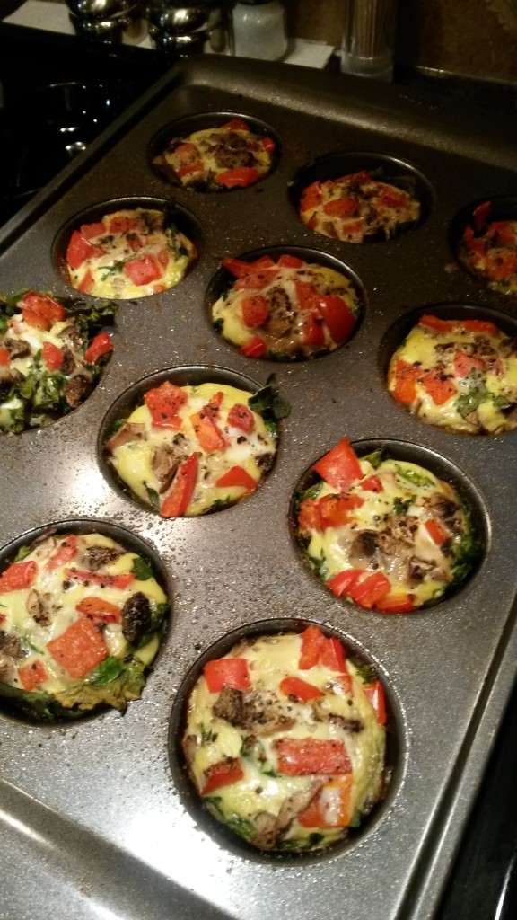 High Protein Low Carb Breakfast Muffins